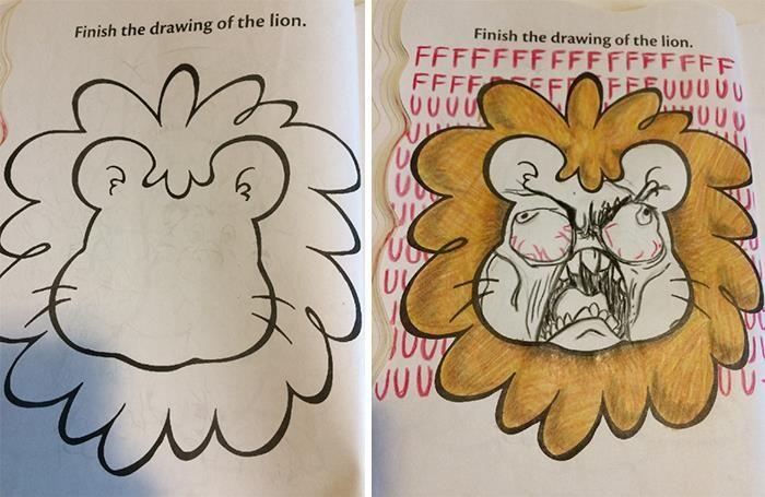 47 vezes que livros de colorir infantis foram corrompidos por adultos 46