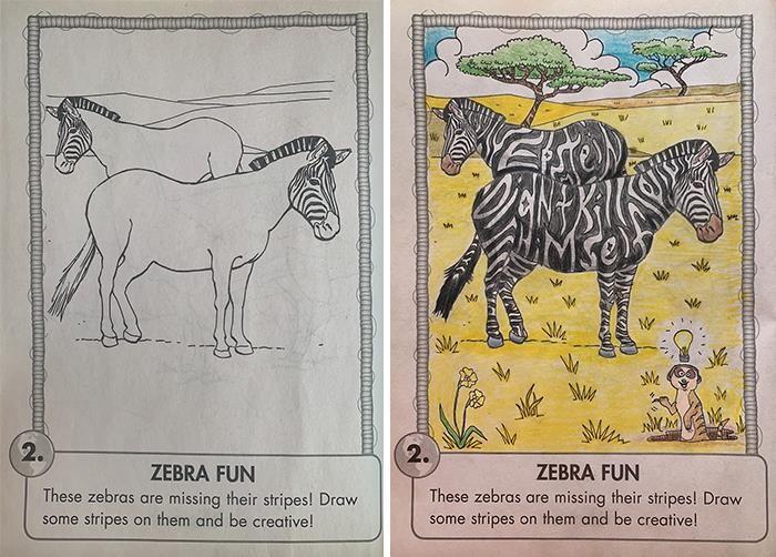 47 vezes que livros de colorir infantis foram corrompidos por adultos 47