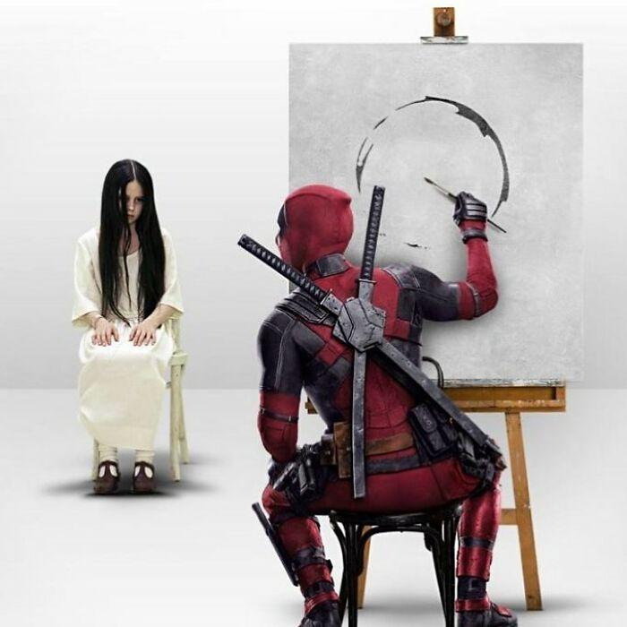 Artista digital combina personagens de filmes e de TV populares, e os resultados são hilários (30 fotos) 3