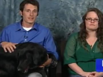 Cão fica agressivo perto da babá e a família resolve esconder um gravador para descobrir o motivo 5