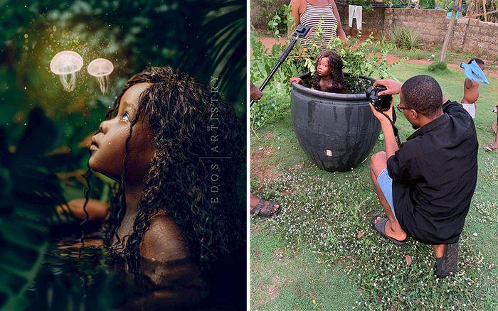 Fotógrafo revela o que há por trás das fotos perfeitas do Instagram (42 fotos) 2