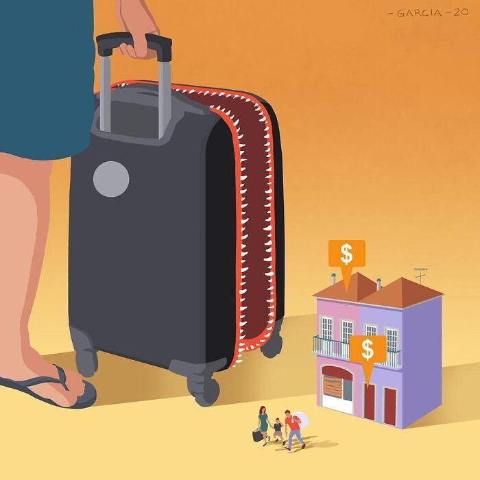 49 ilustrações que mostram o que há de errado com nossa sociedade 4
