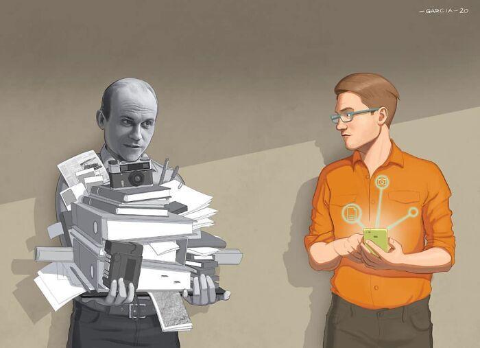 49 ilustrações que mostram o que há de errado com nossa sociedade 5