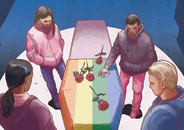 49 ilustrações que mostram o que há de errado com nossa sociedade 7