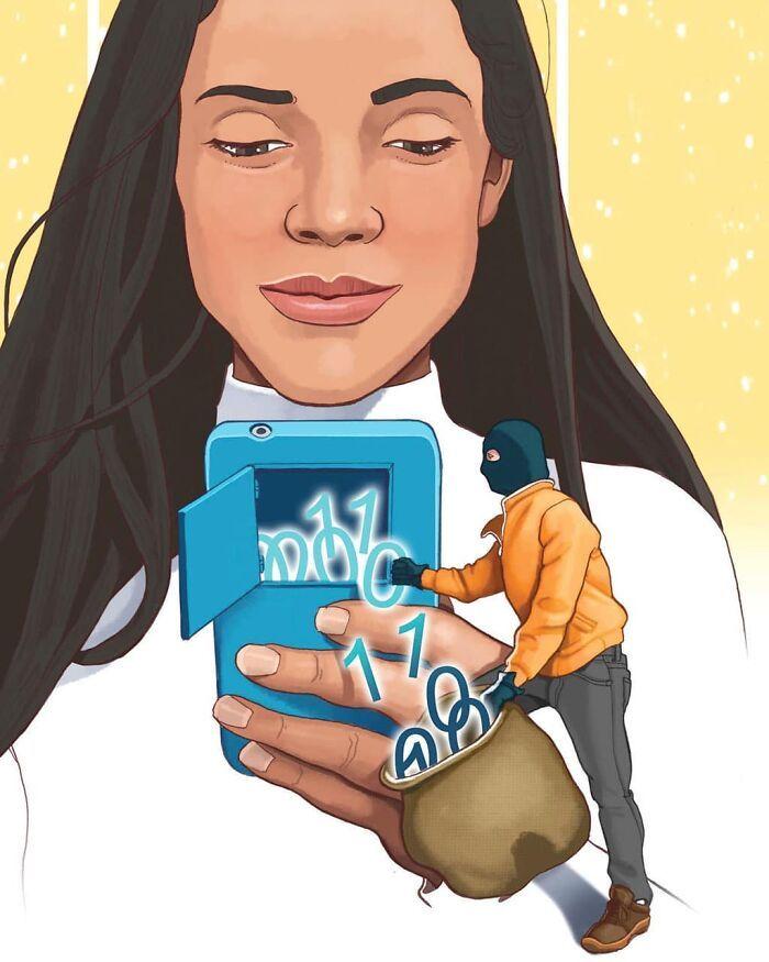 49 ilustrações que mostram o que há de errado com nossa sociedade 10
