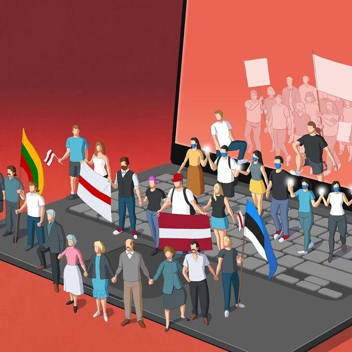 49 ilustrações que mostram o que há de errado com nossa sociedade 13