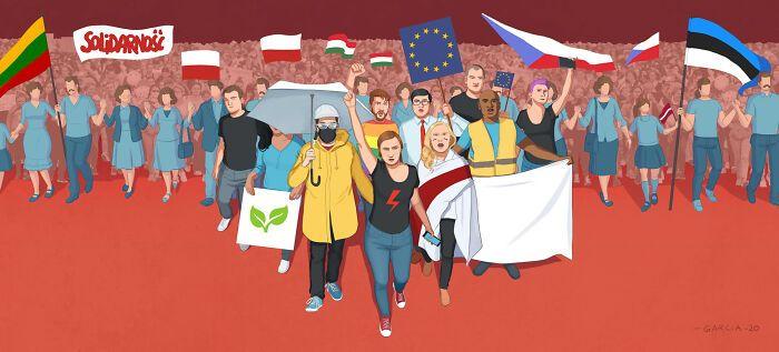 49 ilustrações que mostram o que há de errado com nossa sociedade 43