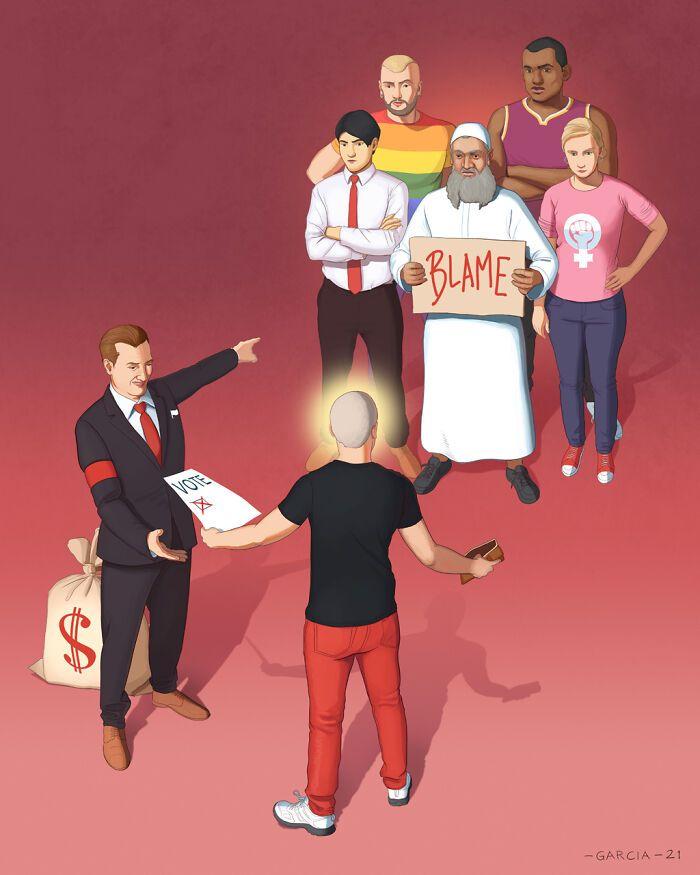 49 ilustrações que mostram o que há de errado com nossa sociedade 46