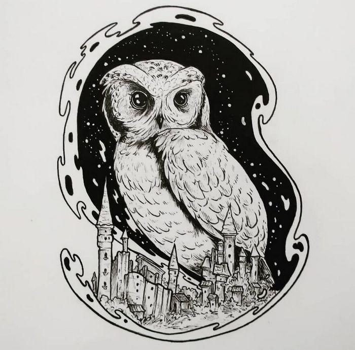 Ilustrador combina animais, pessoas e o céu noturno para criar arte mágica (26 fotos) 10