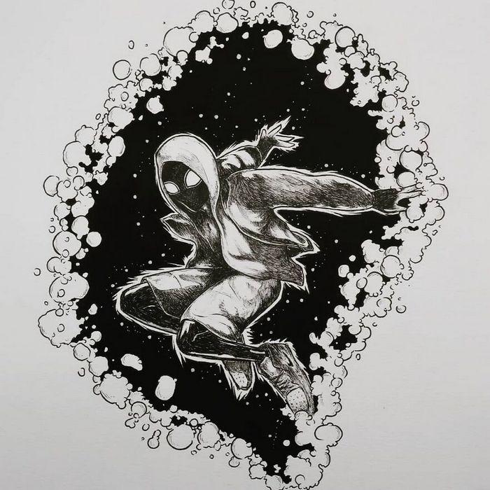 Ilustrador combina animais, pessoas e o céu noturno para criar arte mágica (26 fotos) 13