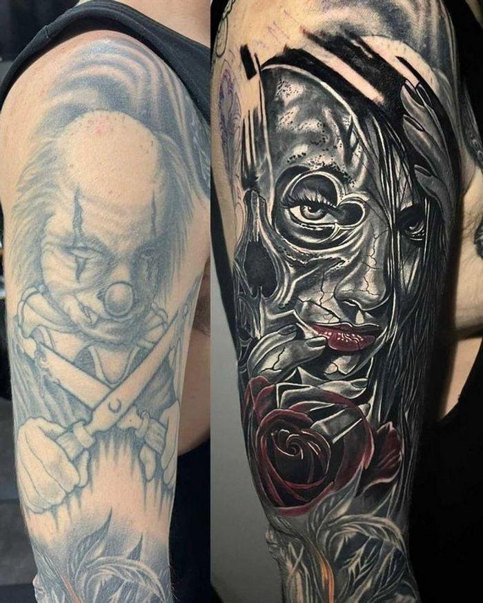 28 pessoas que decidiram dar uma segunda chance para suas antigas tatuagens 2