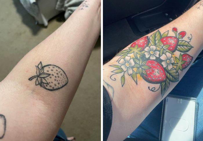 28 pessoas que decidiram dar uma segunda chance para suas antigas tatuagens 5