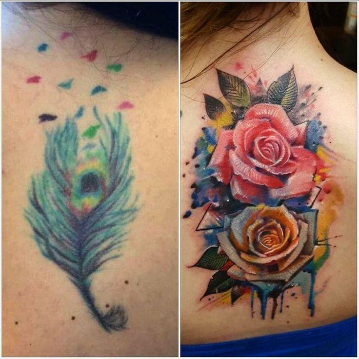 28 pessoas que decidiram dar uma segunda chance para suas antigas tatuagens 6