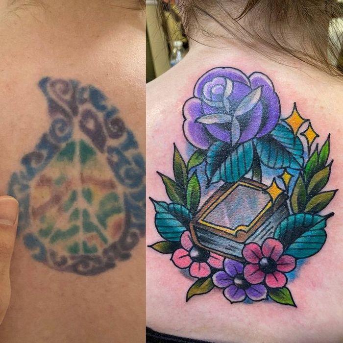 28 pessoas que decidiram dar uma segunda chance para suas antigas tatuagens 7