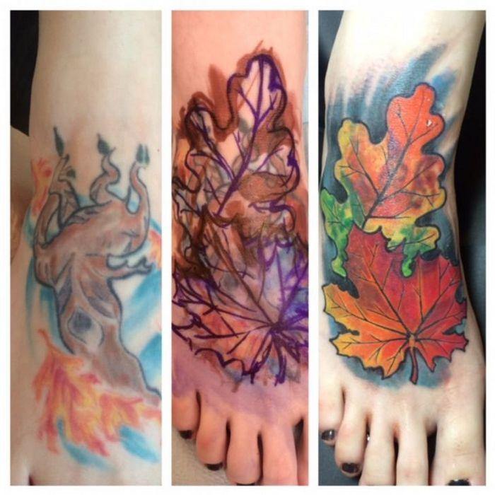 28 pessoas que decidiram dar uma segunda chance para suas antigas tatuagens 11