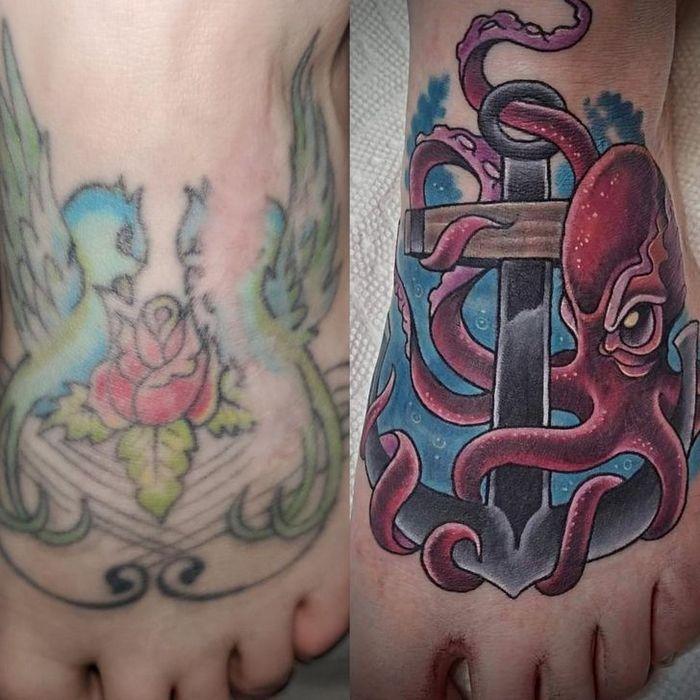 28 pessoas que decidiram dar uma segunda chance para suas antigas tatuagens 21