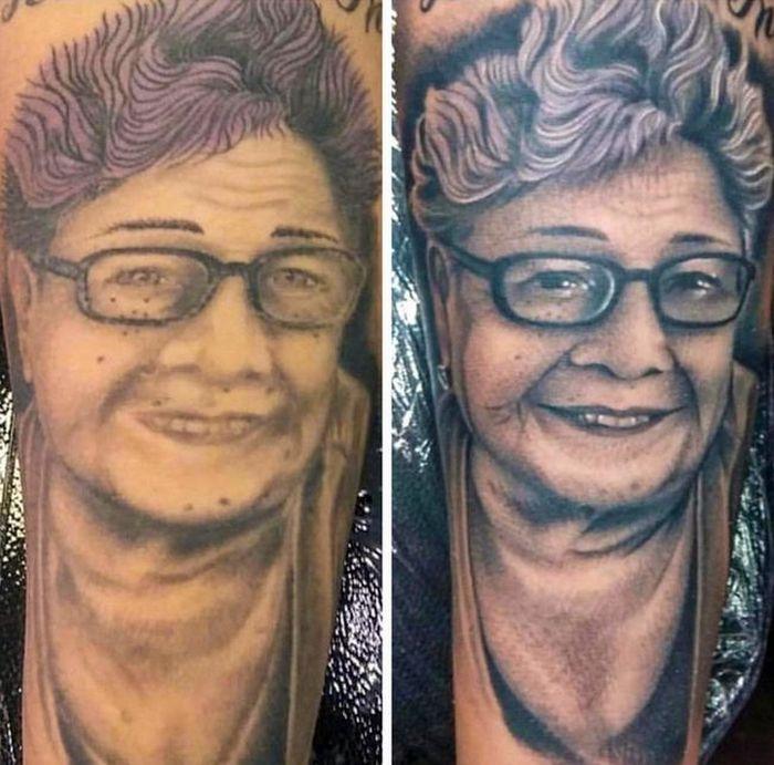 28 pessoas que decidiram dar uma segunda chance para suas antigas tatuagens 24