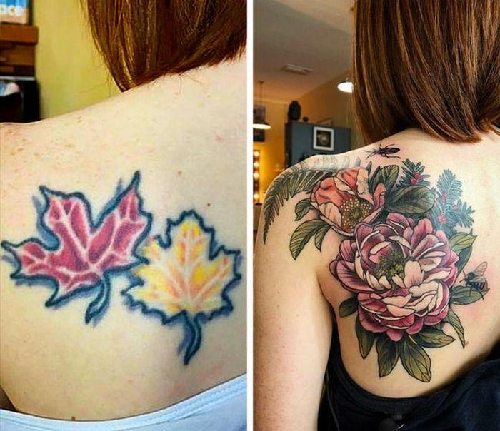 28 pessoas que decidiram dar uma segunda chance para suas antigas tatuagens 26