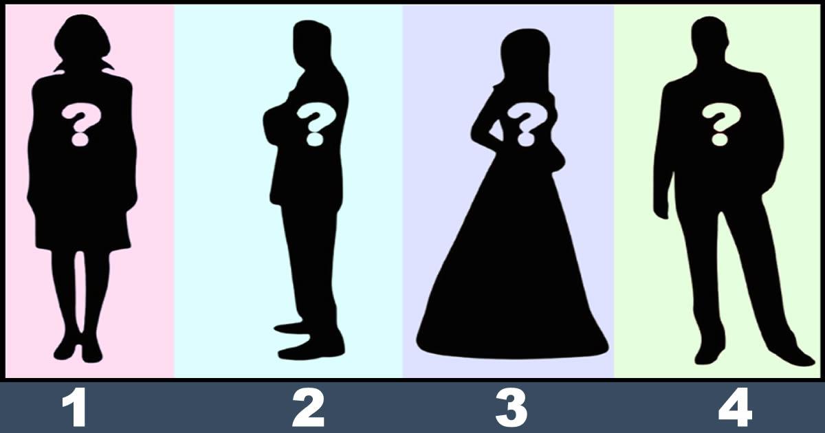Qual dessas pessoas tenta esconder algo? 2