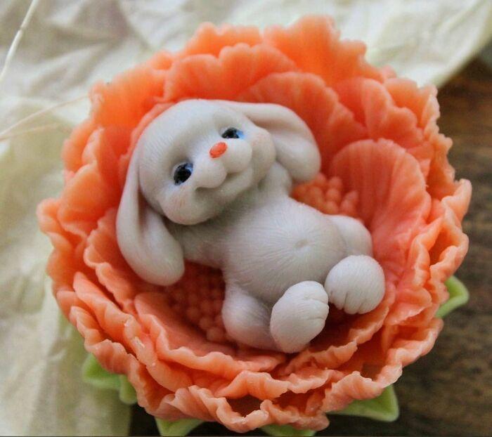 37 sabonetes artesanais com tema de animais, deste artista russo 25