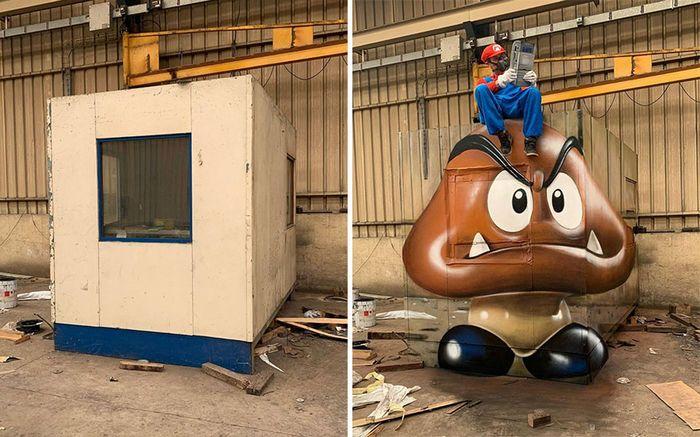 Artista de rua francês pinta graffiti de criaturas em 3D e não é para os fracos de coração (43 fotos) 18