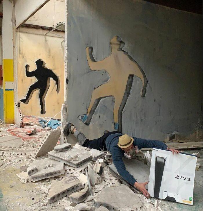 Artista de rua francês pinta graffiti de criaturas em 3D e não é para os fracos de coração (43 fotos) 39