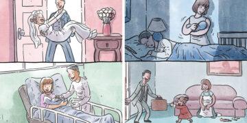 Artista ilustra problemas comoventes da nossa sociedade em 5 quadrinhos 12