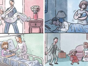 Artista ilustra problemas comoventes da nossa sociedade em 5 quadrinhos 71