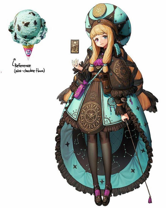 Artista recria várias coisas como personagens originais em estilo anime (40 fotos) 5