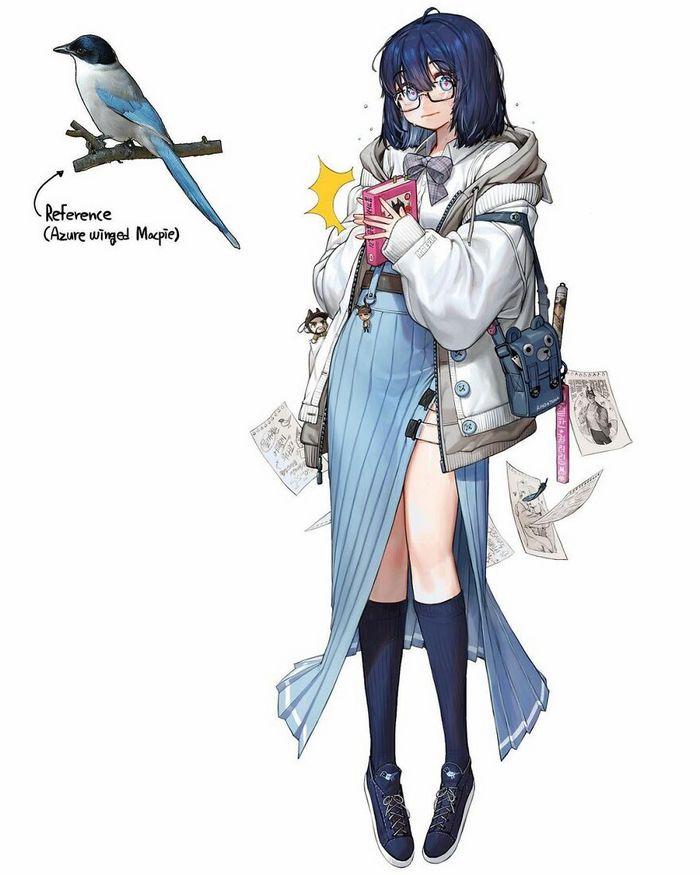 Artista recria várias coisas como personagens originais em estilo anime (40 fotos) 16