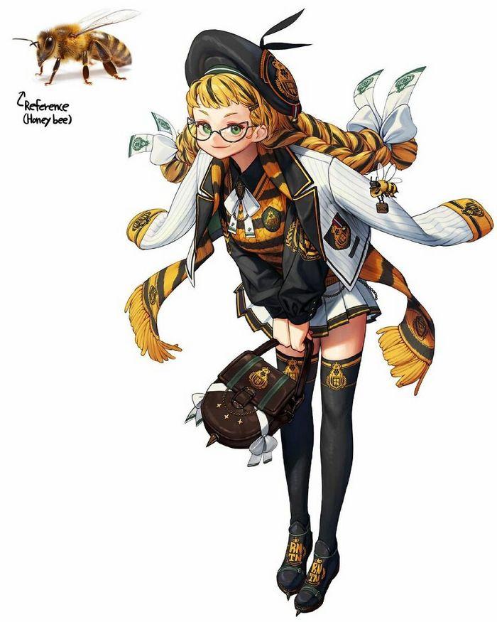 Artista recria várias coisas como personagens originais em estilo anime (40 fotos) 23