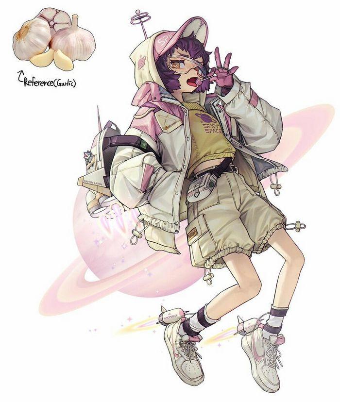 Artista recria várias coisas como personagens originais em estilo anime (40 fotos) 40
