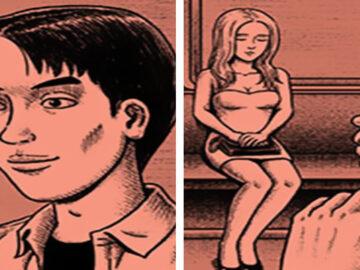 Este artista cria quadrinhos de terror com finais assustadores (30 fotos) 1