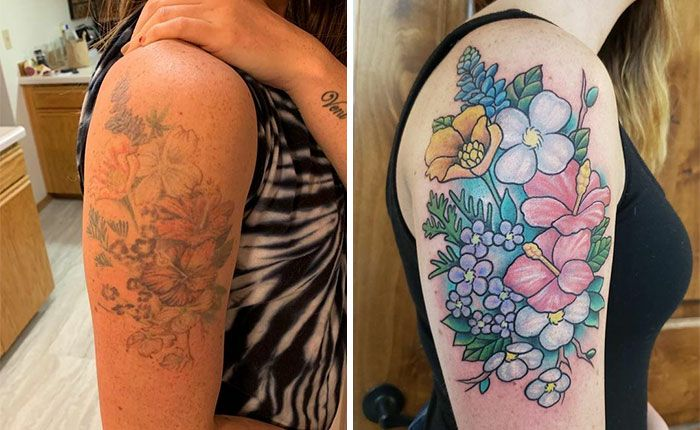 59 exemplos surpreendentes de mestres de tinta dando uma reforma incrível em tatuagens velha e feia 14