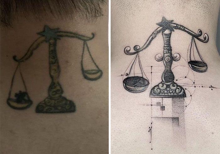59 exemplos surpreendentes de mestres de tinta dando uma reforma incrível em tatuagens velha e feia 32