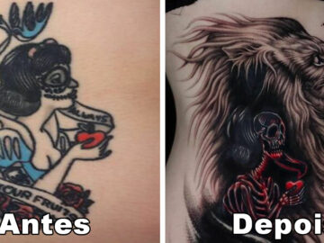 59 exemplos surpreendentes de mestres de tinta dando uma reforma incrível em tatuagens velha e feia 56