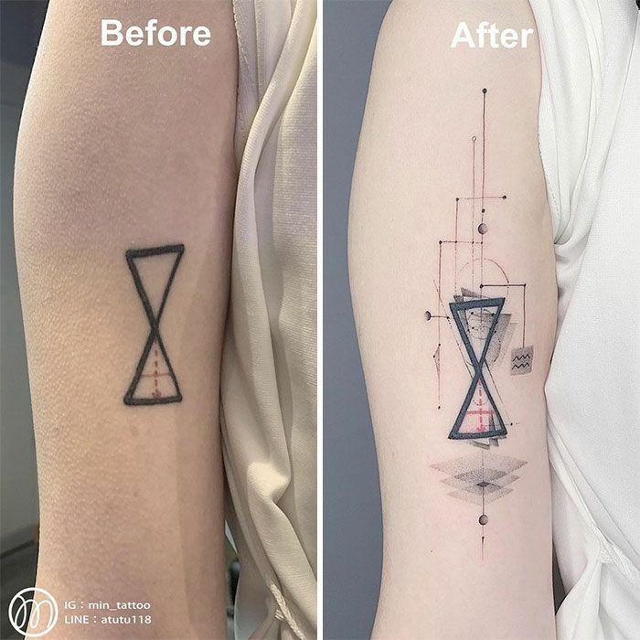 59 exemplos surpreendentes de mestres de tinta dando uma reforma incrível em tatuagens velha e feia 38