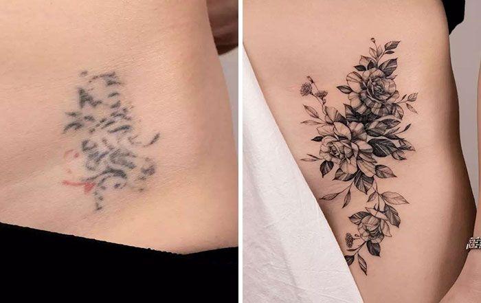 59 exemplos surpreendentes de mestres de tinta dando uma reforma incrível em tatuagens velha e feia 39