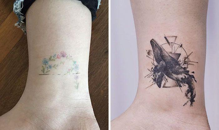 59 exemplos surpreendentes de mestres de tinta dando uma reforma incrível em tatuagens velha e feia 46