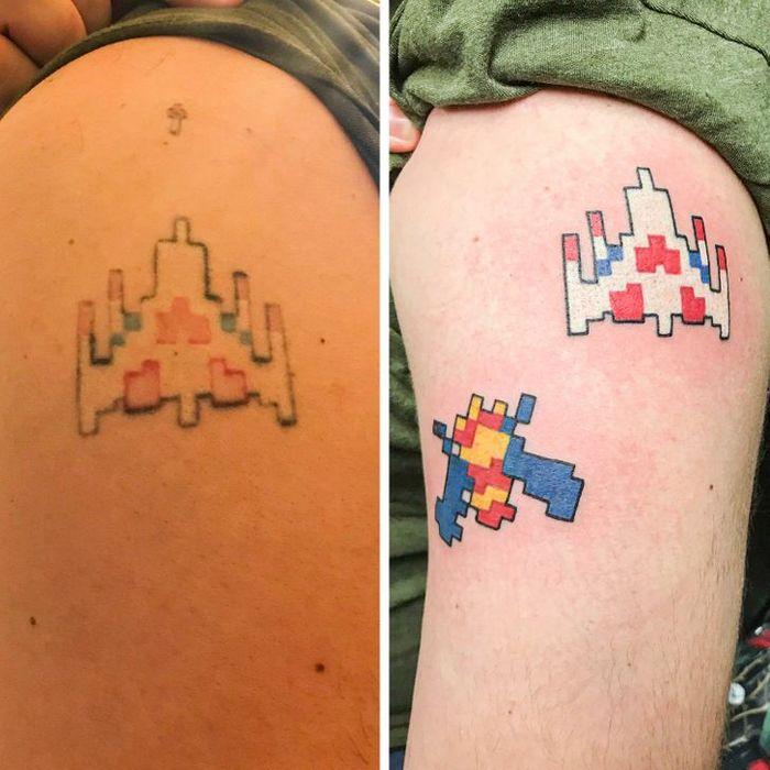 16 tatuagens que passaram de um fracasso a uma obra-prima 3