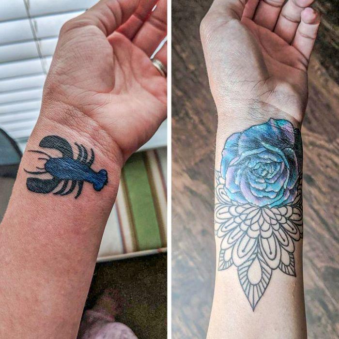 16 tatuagens que passaram de um fracasso a uma obra-prima 10